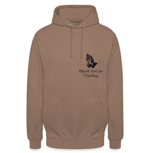 Thank God for Riesling - Prayer - Unisex Hoodie
