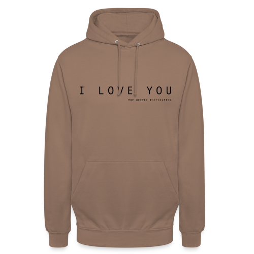 I Love You by The Nerved Corporation - Unisex Hoodie