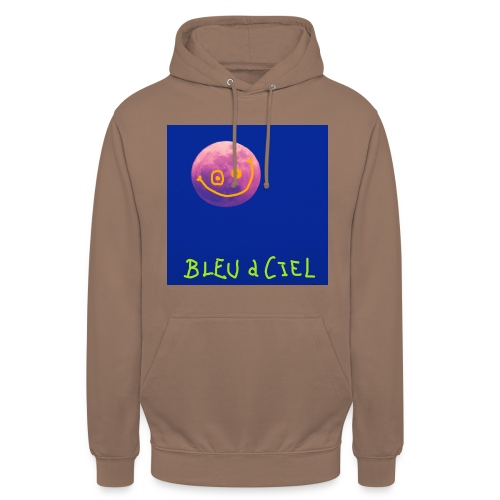 BLEU d CIEL- PINK mOOn collection - Sweat-shirt à capuche unisexe