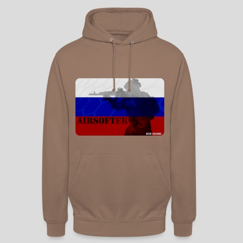 AIRSOFTER RUS - Sudadera con capucha unisex