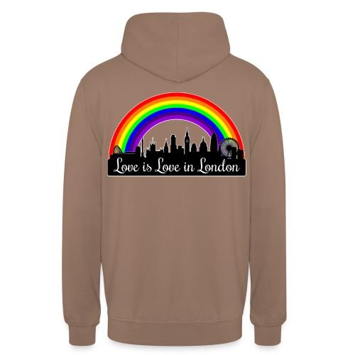 "Love is Love in London - Huppari ""unisex"""