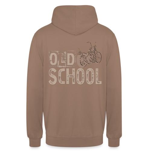 Old school - Sudadera con capucha unisex