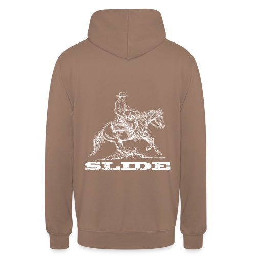Sliding Stop Westernreiter Reining - Unisex Hoodie