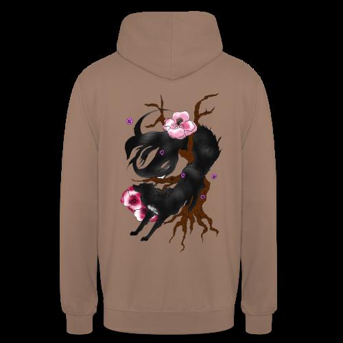 Black Wolf Spring - Unisex Hoodie