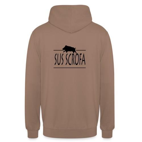 SUS SCROFA - Sweat-shirt à capuche unisexe