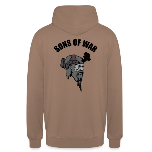 Sons of War oven - Hættetrøje unisex
