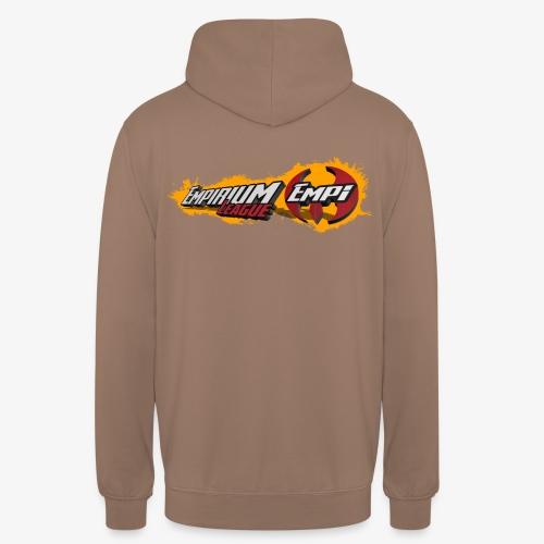 Logo EMPi fond jaune - Sweat-shirt à capuche unisexe