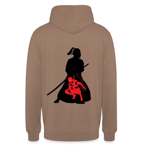 Samourai - Sweat-shirt à capuche unisexe