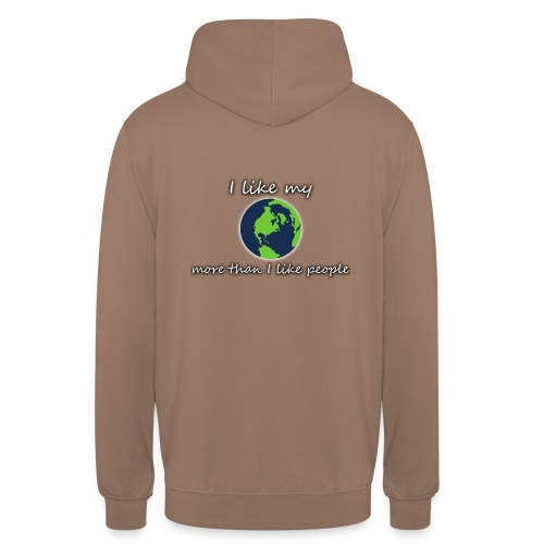 Terre PLANET CRYM planetcontest - Sweat-shirt à capuche unisexe