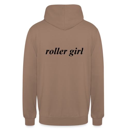 roller girl ♥ - Luvtröja unisex