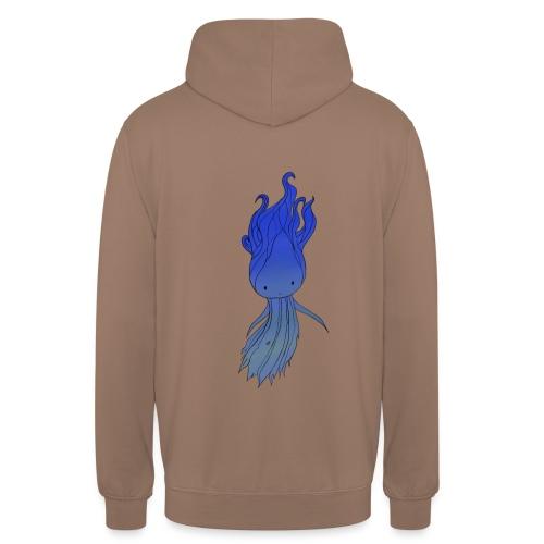 Blue Nymph - Hættetrøje unisex