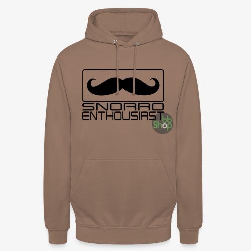 Snorro enthusiastic (black) - Unisex Hoodie