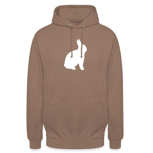 T-shirt personnalisable avec votre texte (lapin) - Sweat-shirt à capuche unisexe