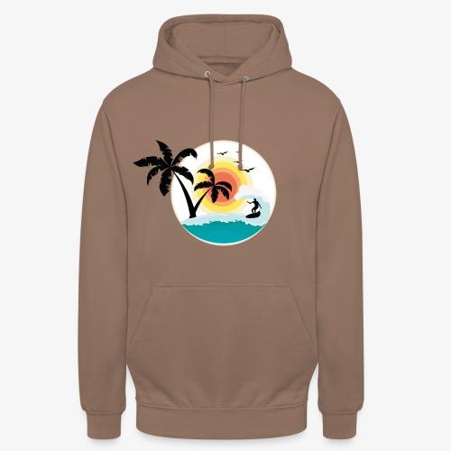 Surfing in paradise - Unisex Hoodie