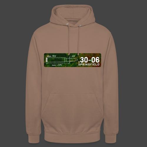 Kalibershirt .30-06 für Jäger und Schützen - Unisex Hoodie