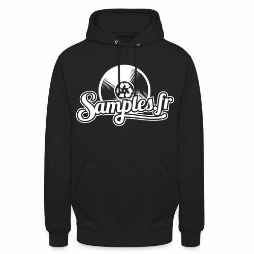 Samples.fr noir - Sweat-shirt à capuche unisexe