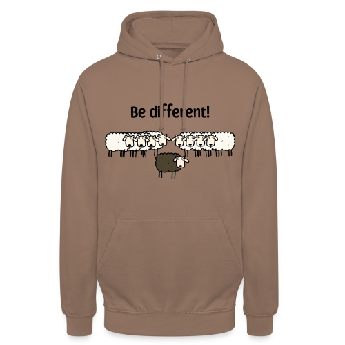 Be different - Unisex Hoodie