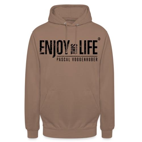 Enjoy this Life®-Classic Black Pascal Voggenhuber - Unisex Hoodie
