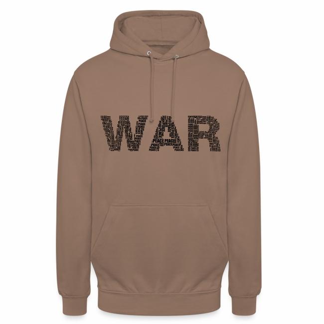"""Napis stylizowany """"War and Peace"""""""