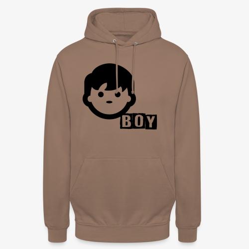 boy - Sweat-shirt à capuche unisexe