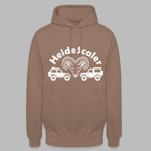 Heide Scaler white HQ - Unisex Hoodie