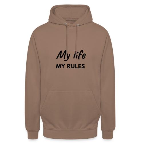 My life - Hoodie unisex