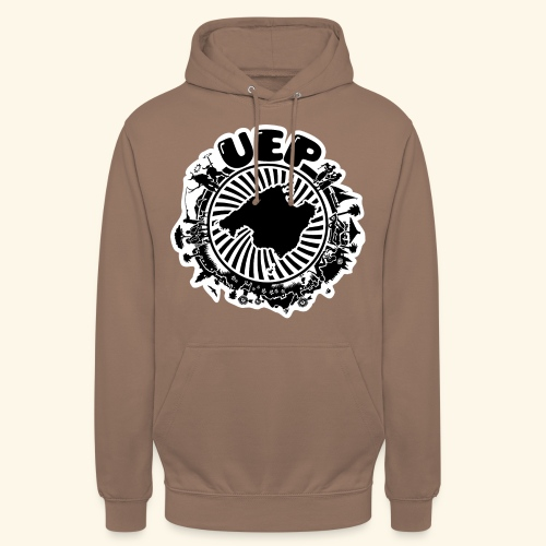 UEP white background - Unisex Hoodie