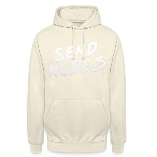 Send Nudes (brush) - Sweat-shirt à capuche unisexe
