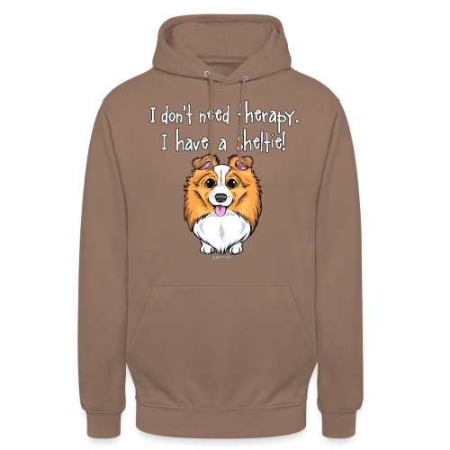 Sheltie Dog Therapy 2 - Unisex Hoodie