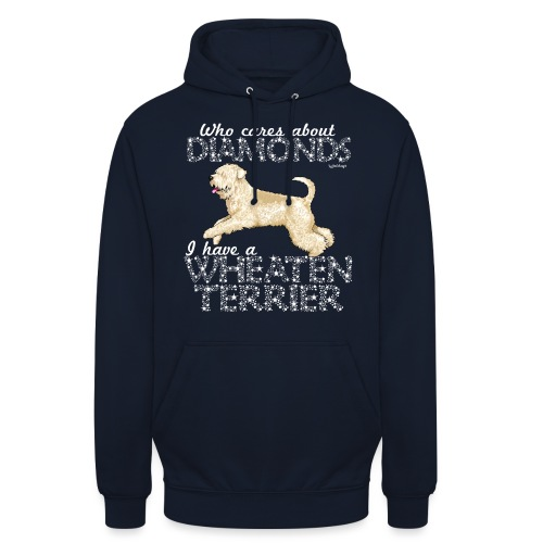 Wheaten Terrier Diamonds 4 - Unisex Hoodie