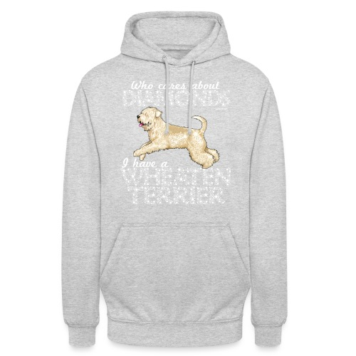 Wheaten Terrier Diamonds 4 - Unisex Hoodie