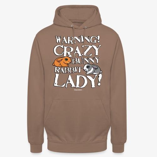 "Crazy Bunny Lady 3 - Huppari ""unisex"""