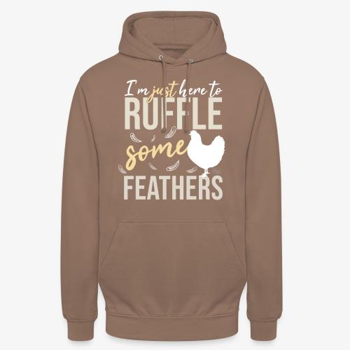 "Ruffle some Feathers - Huppari ""unisex"""