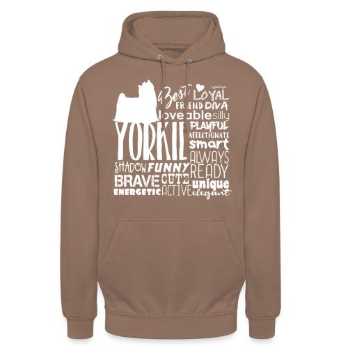 "Yorkshire Terrier Words W - Huppari ""unisex"""