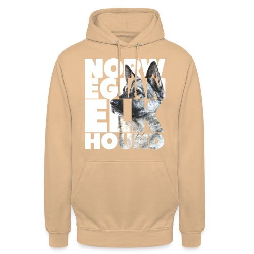 "Norwegian Elkhound I - Huppari ""unisex"""