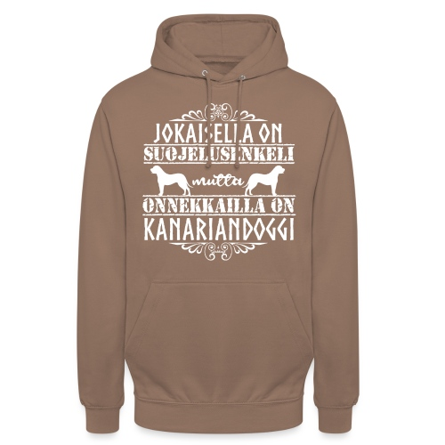 "Kanariandoggi Enkeli - Huppari ""unisex"""