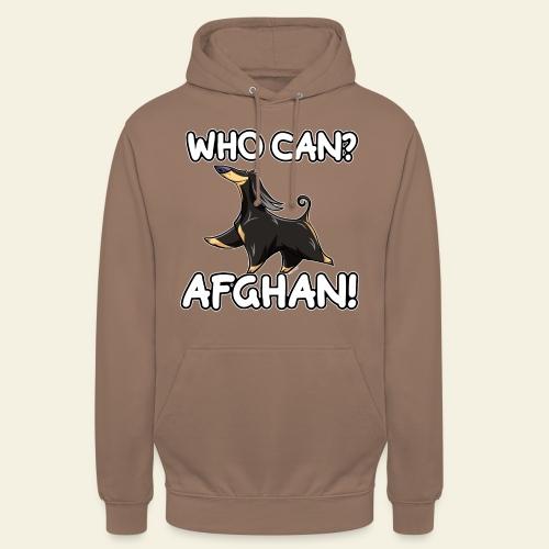 """Who Can Afghan IV - Huppari """"unisex"""""""
