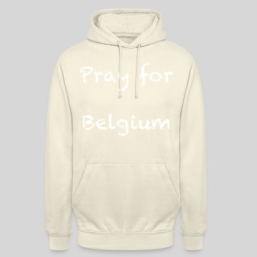 Pray for Belgium - Sweat-shirt à capuche unisexe