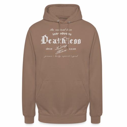 deathless living team grau - Unisex Hoodie