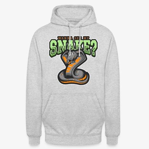 "Wanna see my Snake III - Huppari ""unisex"""