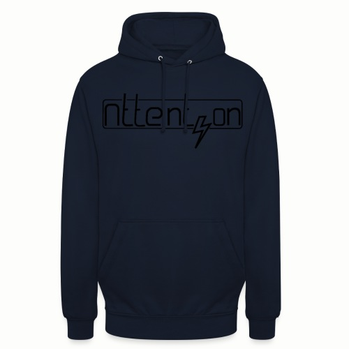 attention - Hoodie unisex