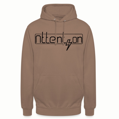 attention - Hoodie unisex