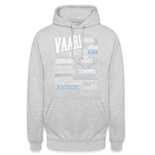 "Vaarin Oma Paita V - Huppari ""unisex"""