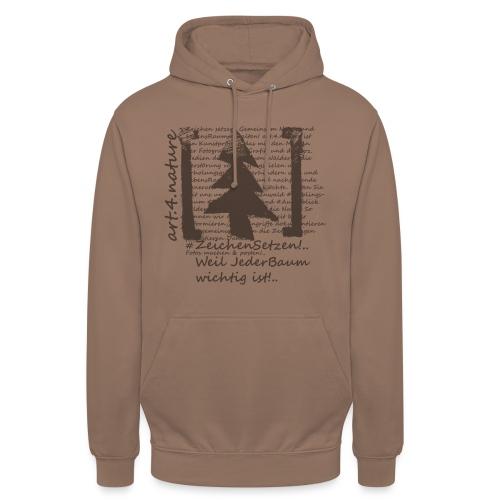 art.4.nature / Tree-Shirt schwarz - Unisex Hoodie