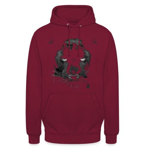 Pantere - Sweat-shirt à capuche unisexe