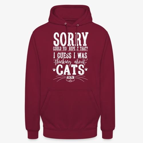 "Sorry Cats II - Huppari ""unisex"""