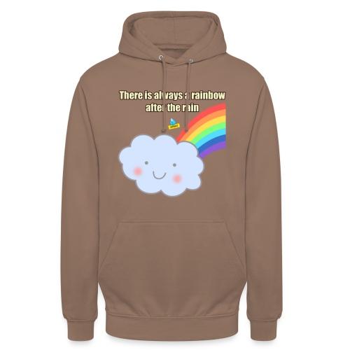 Bubbly! Rainbow - Felpa con cappuccio unisex