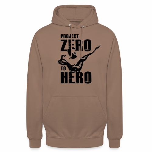 Zero to Hero LOGO png - Unisex Hoodie
