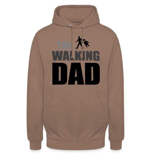 the walking dad auf dem Weg in die lustige Bar - Unisex Hoodie