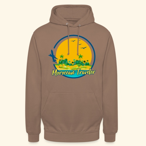 Moroccan Traveler - Sweat-shirt à capuche unisexe